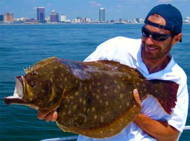 Flounder fishing fishing reports coastal carolina for Nj saltwater fishing registry