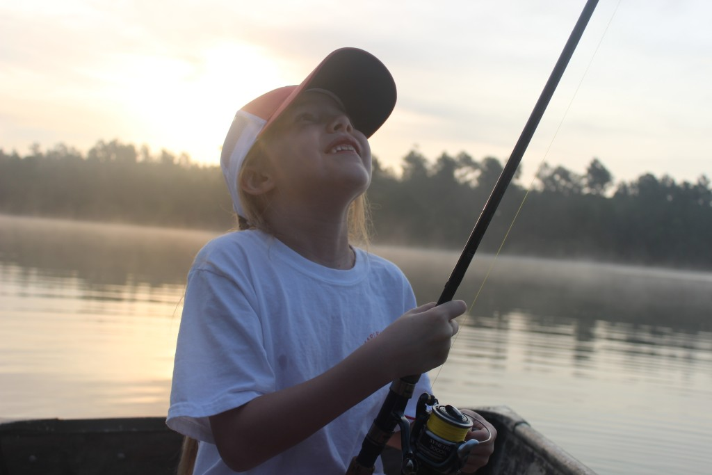 Making fishing and family memories in charleston fishing for Nc lifetime fishing license
