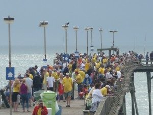 Cape fear disabled sportsman fishing tournament a day for Kure beach fishing report