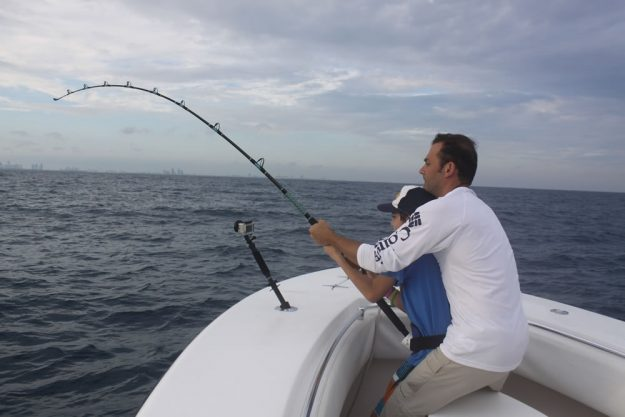 Chasing a Caught Fish Like a Tournament Pro