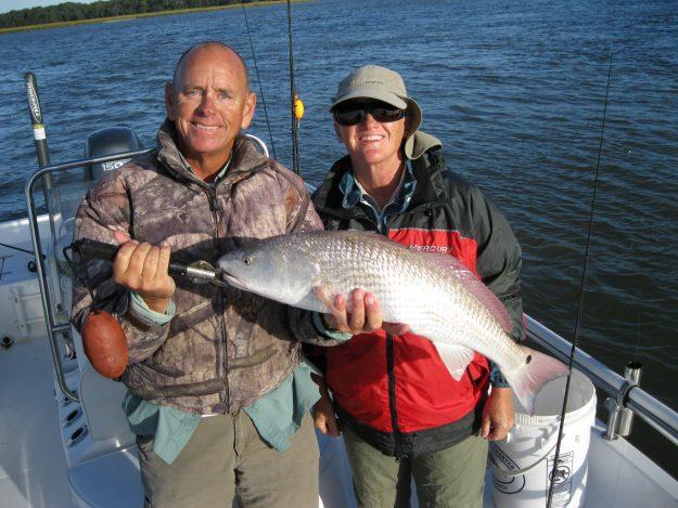 High Water Redfish In Big Numbers