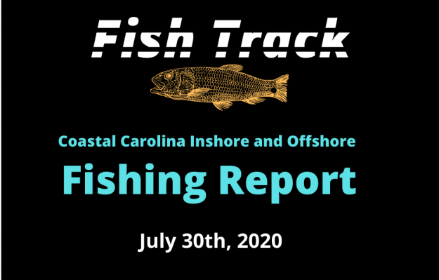 Fish Track Fishing Report For July 31, 2020