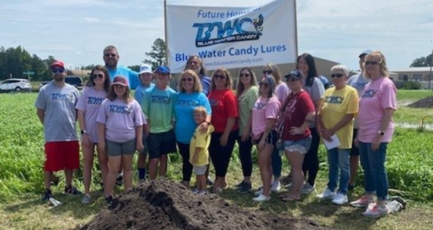 Blue Water Candy Lures Breaks Ground On New Facility